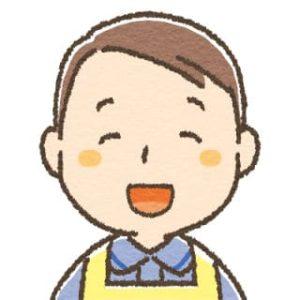 男性介護士・笑顔