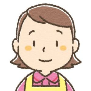 女性介護士・表情アイコン