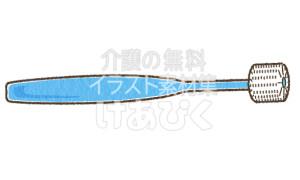 360度歯ブラシのイラスト