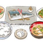 和食のイラスト