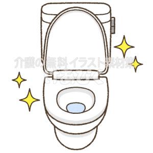 清潔・キレイなトイレのイラスト