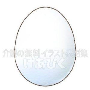 たまご(卵)のイラスト