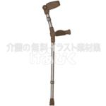 ロフストランドクラッチ(前腕部支持型杖)のサムネ