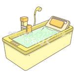 機械浴槽(特別浴槽)のイラスト