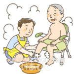 一般浴(普通入浴)の介助