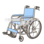 自走式車椅子のイラスト