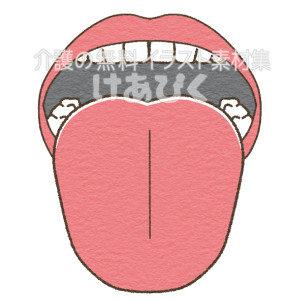 舌のイラスト